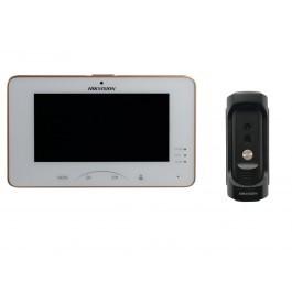 Комплект ip видеодомофона Hikvision DS-KH8301-WT и ip вызывной панели DS-KB8112-IM