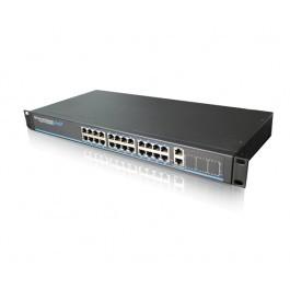 Управляемый POE коммутатор UTP3-SW24-TP420