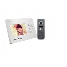Комплект видеодомофона Tantos LILU lux  + вызывная панель NeoLight SOLO Graphite