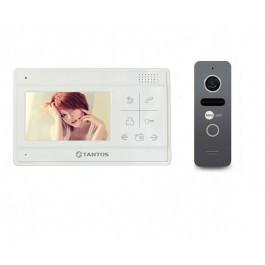 Комплект видеодомофона Tantos LILU SD + вызывная панель NeoLight SOLO Graphite