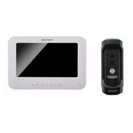 Комплект ip видеодомофона Hikvision DS-KH6310-W и ip вызывной панели DS-KB8112-IM