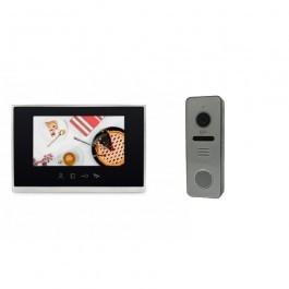 Комплект видеодомофона Lightvision MACAO FHD + вызывная панель RIO FHD