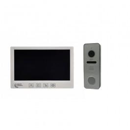 Комплект видеодомофона Lightvision Amsterdam + вызывная панель RIO FHD