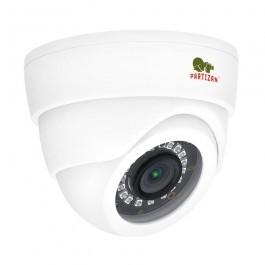 AHD видеокамера Partizan CDM-223S-IR FullHD Metal