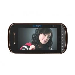 Видеодомофонный монитор Kenwei  E703C (black)