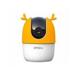 Wi-Fi PT камера Dahua DH-IPC-A22EP с желтым чехлом FRS13