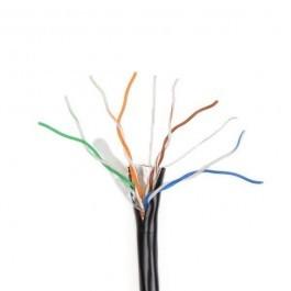 Сетевой кабель FTP 4*2*0.5-CU PE кат.5е (FTP медь наружный) бухта 305м