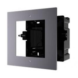 Врезная монтажная рамка на 1 модуль Hikvision DS-KD-ACF1/PLASTIC