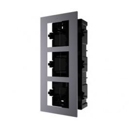 Врезная монтажная рамка Hikvision DS-KD-ACF3/PLASTIC