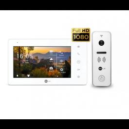 Комплект видеодомофона NeoLight NeoKIT HD Pro White