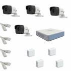 IP Комплект видеонаблюдения Hikvision Standart POE 4 цилиндрические