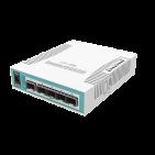 8-портовый управляемый PoE коммутатор CRS112-8P-4S-IN