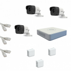 IP Комплект видеонаблюдения Hikvision Standart POE 3 цилиндра