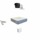 IP Комплект видеонаблюдения Hikvision Standart POE 1 цилиндр