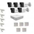 IP Комплект видеонаблюдения Hikvision(8) 2MP (FullHD) 5 цилиндр