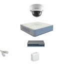 IP Комплект видеонаблюдения Hikvision Standart 1купольная (металл)