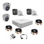 Комплект видеонаблюдения Hikvision Turbo HD 5Мп 2уличн-2купол(металл)