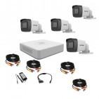 Комплект видеонаблюдения Hikvision Turbo HD 5Мп 4 уличные