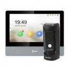 Комплект IP домофона Hikvision DS-KH8350-WTE1+DS-KB8112-IM