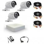 Комплект видеонаблюдения Hikvision(8) Professional 3 уличные