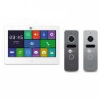 Комплект видеодомофона NEOLIGHT MEZZO HD / Solo FHD Graphite/Silver