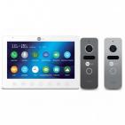 Комплект видеодомофона NEOLIGHT GAMMA HD / Solo FHD Graphite/Silver