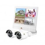 Outdoor Wireless Kit LCD 1MP 2xIP