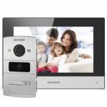 Комплект IP домофона Hikvision DS-KH6320-WTE1+DS-KV8102-IM