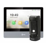Комплект IP домофона Hikvision DS-KH8350-TE1+DS-KB8112-IM