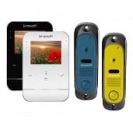 Комплект видеодомофона Intercom IM-11 (blue/yelow)