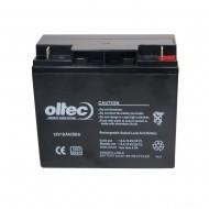 Аккумулятор Oltec 12V18Ah/20Hr