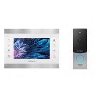 Комплект видеодомофон + вызывная панель Slinex SL-07M + ML-20IP v2