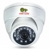Купольная видеокамера Partizan CDM-223S-IR HD 3.0