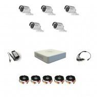 Комплект видеонаблюдения Hikvision(8) Professional 5 уличных