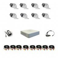 Комплект видеонаблюдения Hikvision(8) Professional 8 уличные