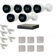 IP Комплект видеонаблюдения Dahua(8) 2MP (FullHD) 6 цилиндр