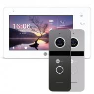 Комплект видеодомофона NeoLight NeoKIT HD Pro Graphite, Silver