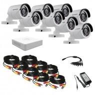 Комплект видеонаблюдения Hikvision(8) Proffesional 8 уличных