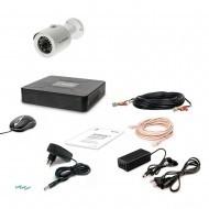 Комплект видеонаблюдения Tecsar 1OUT-2M-AUDIO