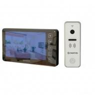 Комплект видеодомофон Tantos Prime - SD Mirror + вызывная панель Tantos iPanel 2 (white)