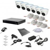 Комплект видеонаблюдения Tecsar 6IN 5MEGA