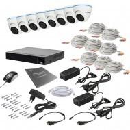 Комплект видеонаблюдения Tecsar 8IN 5MEGA