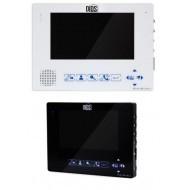 Цветной мультимедийный видеодомофон diosDS-107M ( white/black )