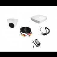 Комплект видеонаблюдения Dahua Standart 1внутренняя