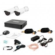 Комплект видеонаблюдения Tecsar 2OUT VARIO