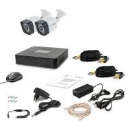 Комплект видеонаблюдения Tecsar 2OUT LIGHT LUX