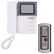 ЧБ домофон и вызывная панель Viatec V-4HP & V-305(CMOS)