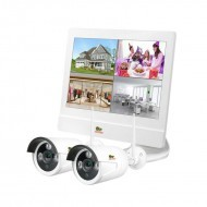 Outdoor Wireless Kit LCD 1MP 2xIP