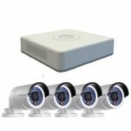 Комплект 2mpx Turbo HD видеонаблюдения Hikvision DS-J142I7104HGHI-SH