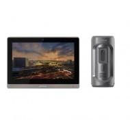Комплект ip видеодомофона Dahua DH-VTH1660CH и ip вызывной панели DHI-VTO2101E-P-S1
